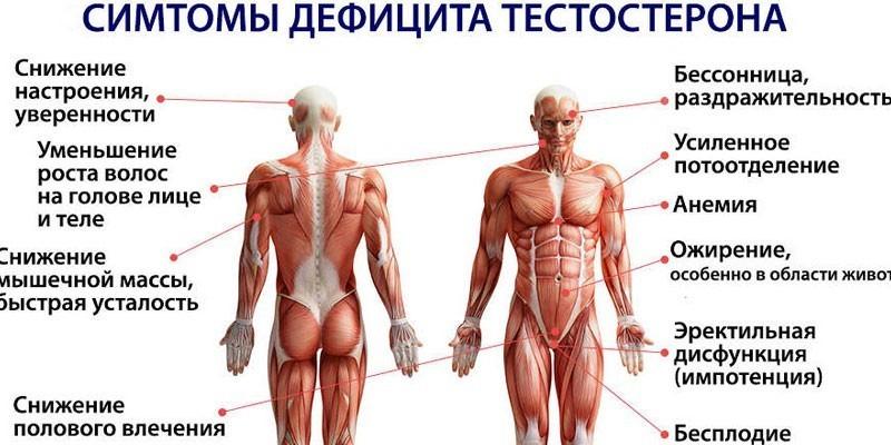 последствия климакса у мужчин